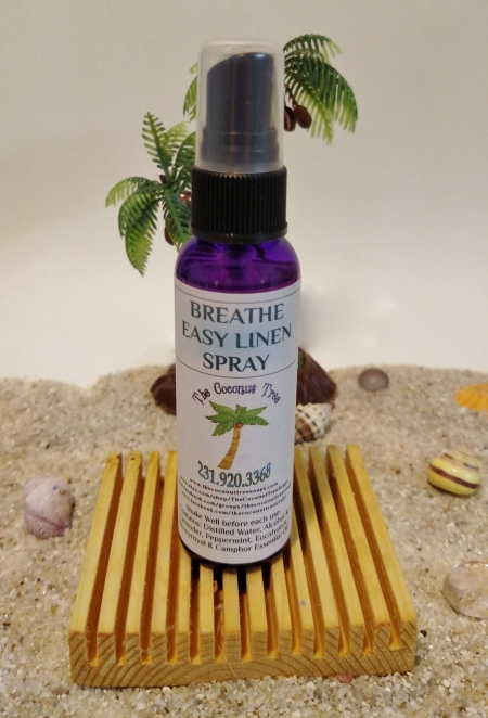 Breathe Easy Linen Spray / 2oz