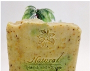 Lemongrass  Green Tea soap 5oz Natural