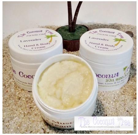 Coconut Scented Body Cream