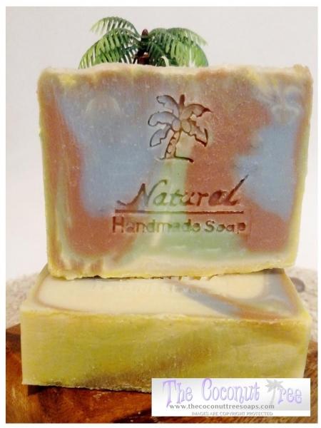 Indian Sandalwood Vanilla Soap 5oz Natural
