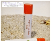 Tangerine Flavored Lip Balm with Stevia