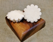 Leather Soy Wax Melting Tart 2pk