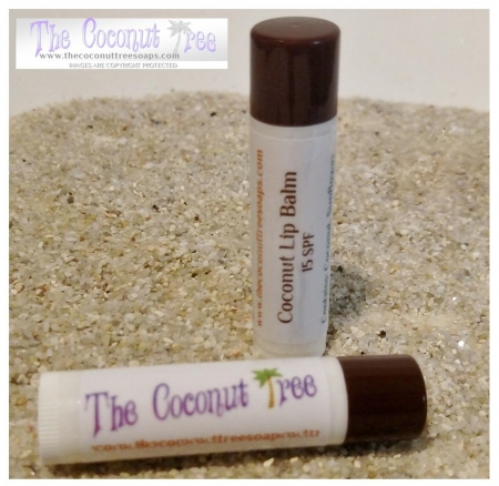 Coconut Flavored Lip Balm with Stieva
