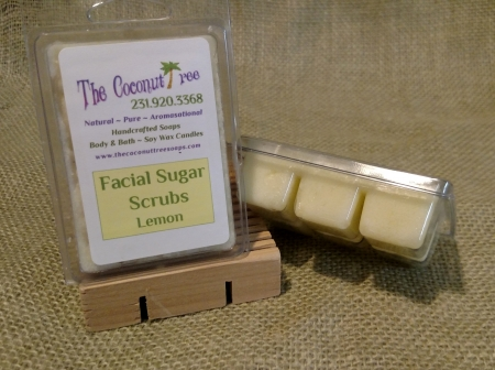 Lemon Facial Sugar Scrub