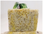 Lemon Poppyseed Soap 5oz Natural