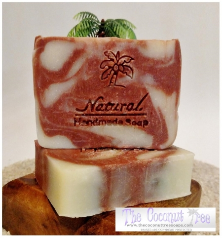 Black Cherry Scented Soap 5oz Natural