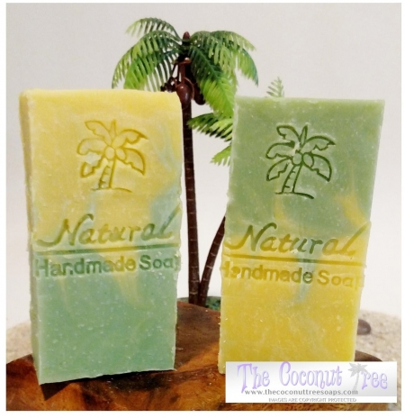 Lemon Eucalyptus Camphor Soap 5oz Natural