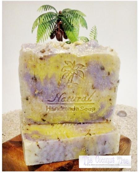 Lavender Chamomile Soap 5oz Natural