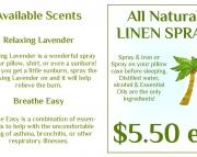 Relaxing Lavender Linen Spray 2oz