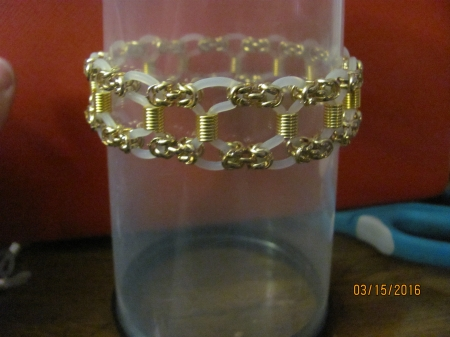 Chain Mail Ladder Bracelet