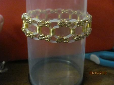 Chain Mail Ladder Bracelet
