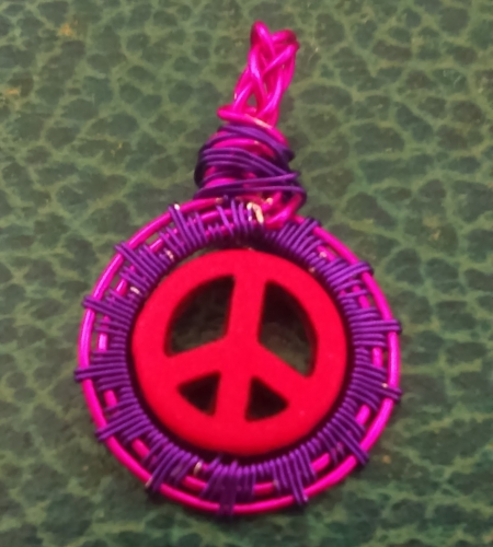 Peace Sing Pink and Purple
