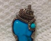 Turquoise pendant I