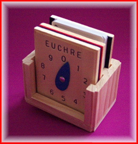 Euchre Score Counters Set WTrump