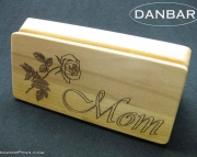 Pen Box Wooden Gift Box Custom Engraving