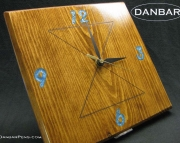 Wall Clock, Wooden Handmade