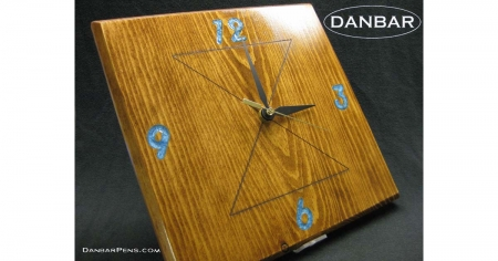 Wall Clock, Wooden Handmade