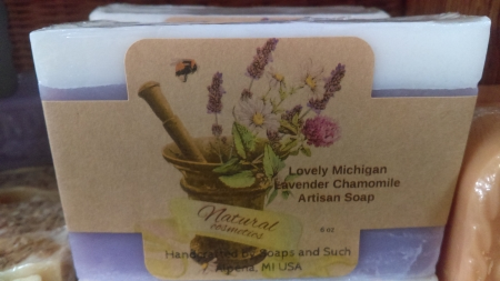 Lovely Michigan Lavender Chamomile Soap