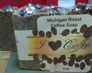 Michigan Brew Coffee Bean Soap