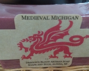Medieval Michigan Dragon's Blood Soap