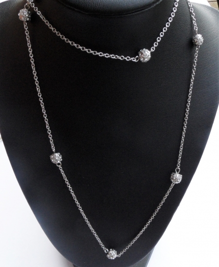 Crystal Stations Necklace