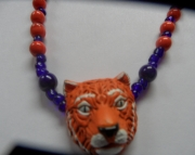Detroit Tiger Necklace
