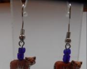 Tiger Body Earrings