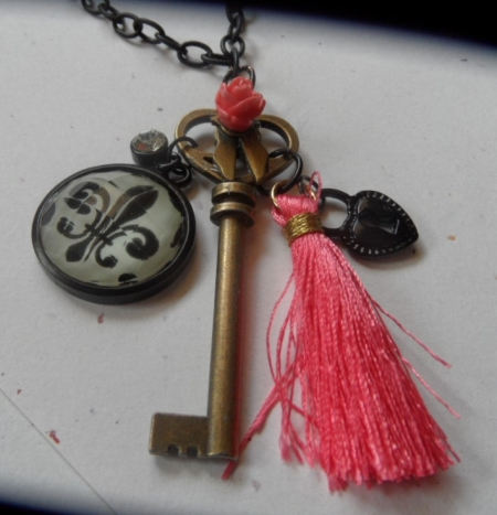 Key Pendent Necklace