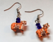 Tiger Body Earrings