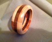 Segmented wood bracelet 5