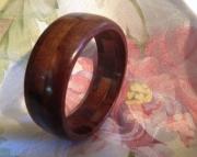 Segmented wood bracelet 23