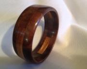 Segmented wood bracelet 21