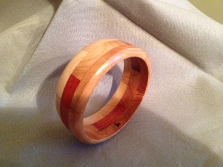 Segmented Wood Bracelet 6