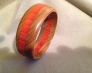 Segmented wood bracelet 4