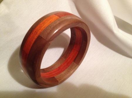 Segmented Wood Bracelet 2