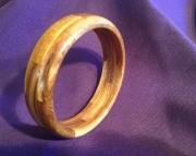 Segmented wood bracelet 18