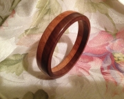 Layered wood bracelet 2