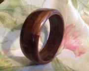 Segmented wood bracelet 20