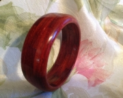 Segmented wood bracelet 19