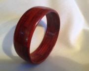 Segmented wood bracelet 22