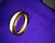 Segmented wood bracelet 7