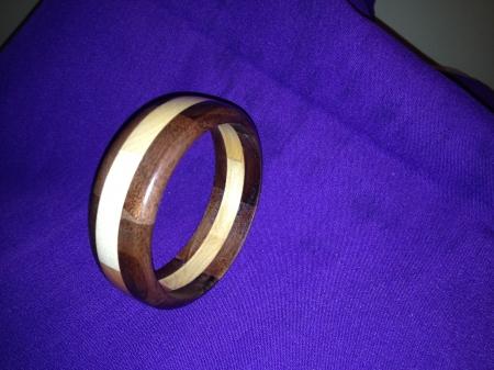 Segmented Wood Bracelet 31