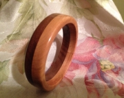 Layered wood bracelet 4