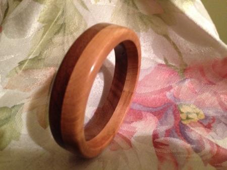 Layered Wood Bracelet