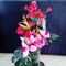 Beautiful Spring Sumer Tropical Flower Arrangement in Vase