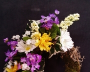 Lovely Spring Flower Wreath