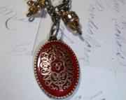 Red Antique Charm