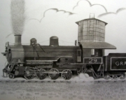 2-8-0 Steam Locomotive
