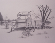 Buckboard Drawing