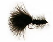 Black Woolly Bugger Handmade Fishing Lure